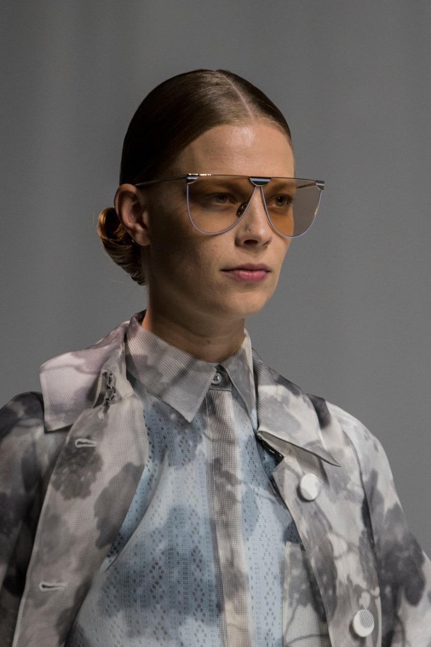 ٥- نظارة شمس للوجه المستطيل من «Fendi»