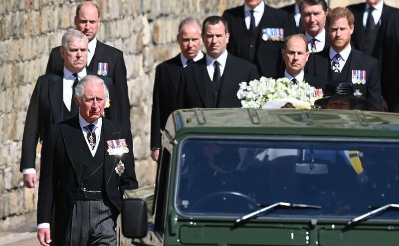 جنازة الأمير فيليب- الصورة من موقع New my royals