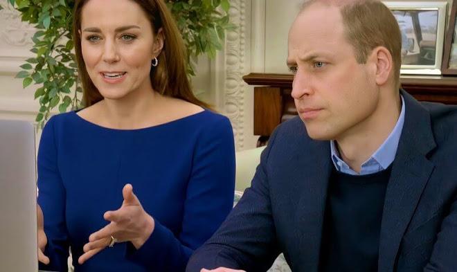 كيت وويليام يواصلان مهامهما الملكية من خلال مكالمة فيديو- الصورة من موقع New my royals
