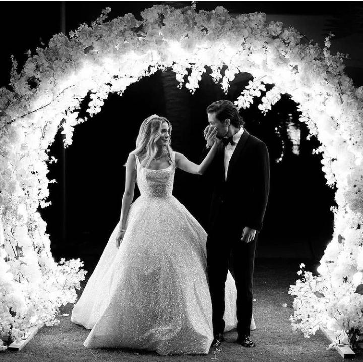 من حفل زفاف ابنة علا غانم.. الصور من حساب علا غانم على انستقرام
