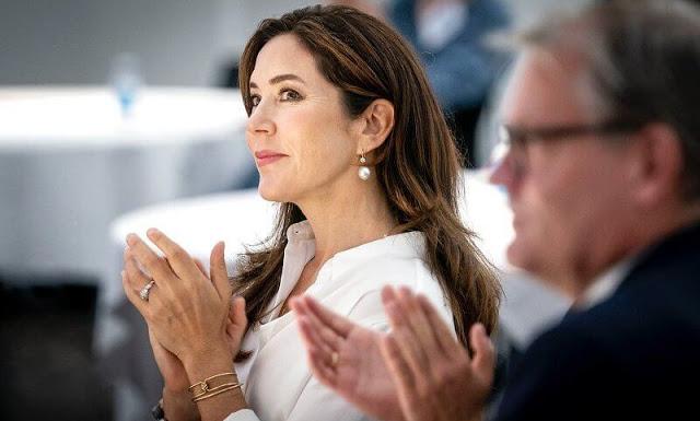 ولية العهد الأميرة ماري تشارك في حدث Creative Denmark- الصورة من موقع New my royals