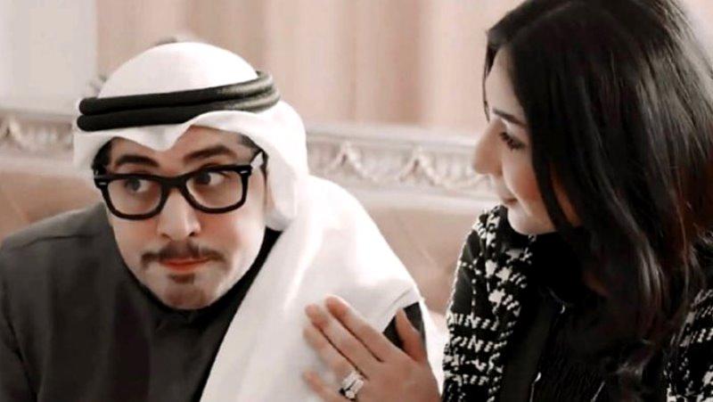 ايمان العلي وباسم عبد الامير في امينة حاف