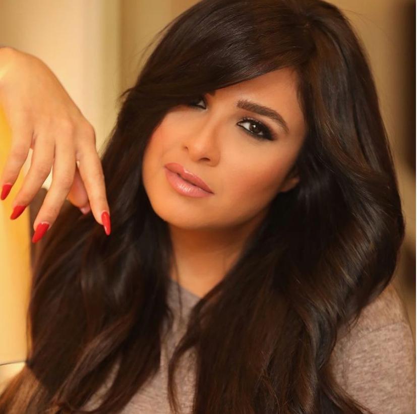 ياسمين عبد العزيز.. الصورة من حسابها على انستقرام