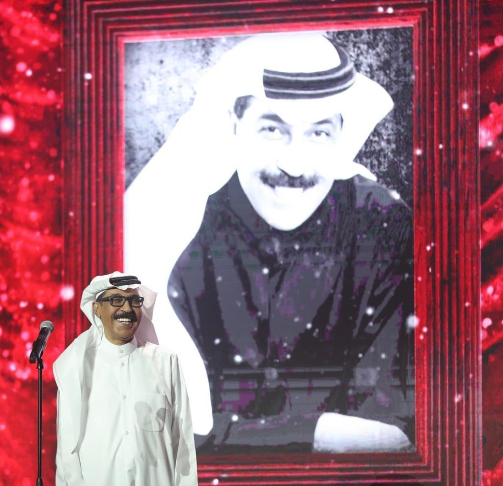 عبد الله الرويشد من الحفل .. تصوير - سامي الحسينان