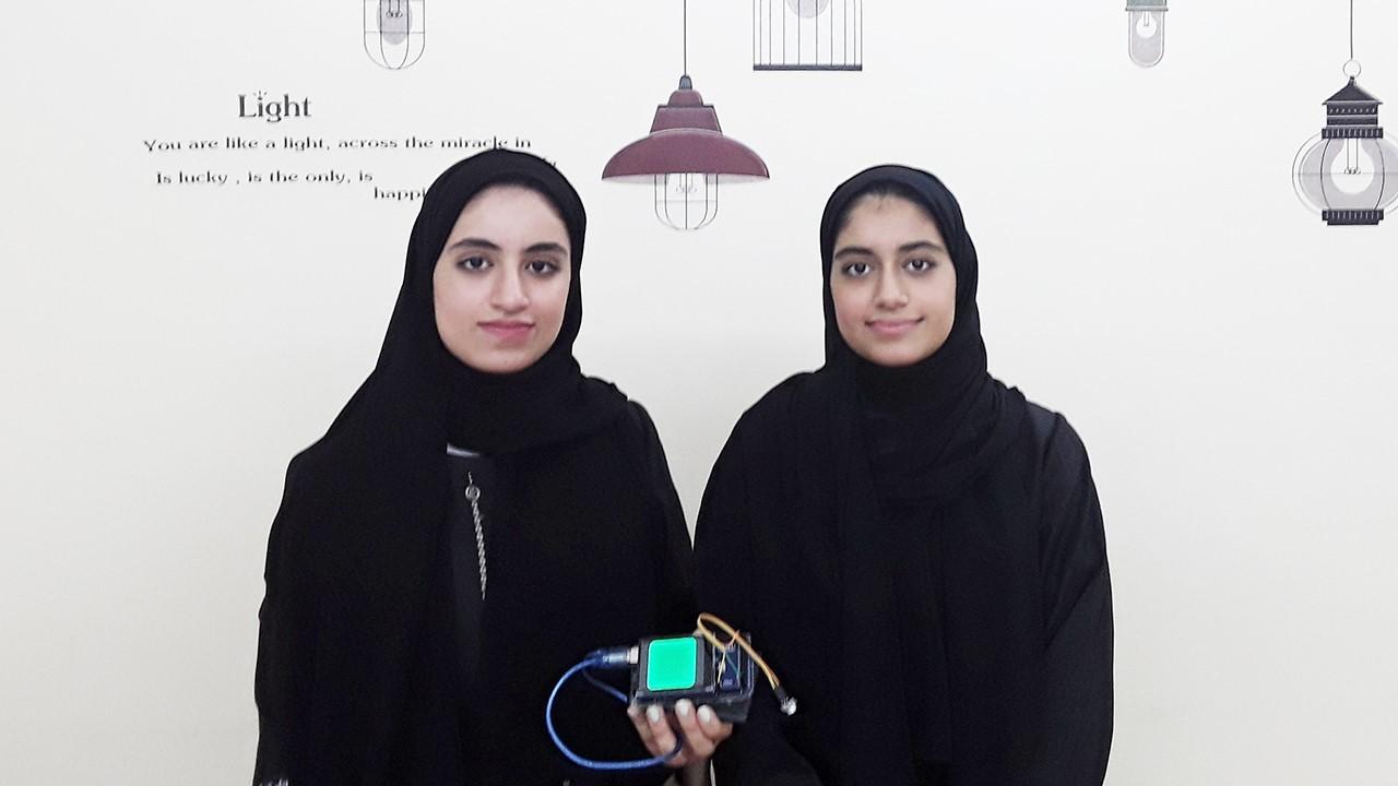 الطالبتان الإماراتيتان الفائزتان بالمركز الثالث عالميًا