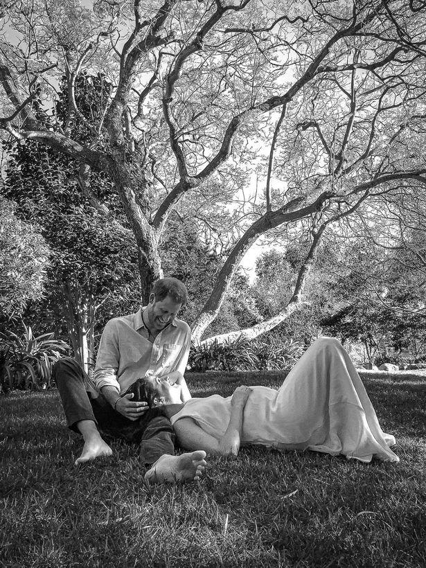 ميغان وهاري- الصورة من موقع ميرور