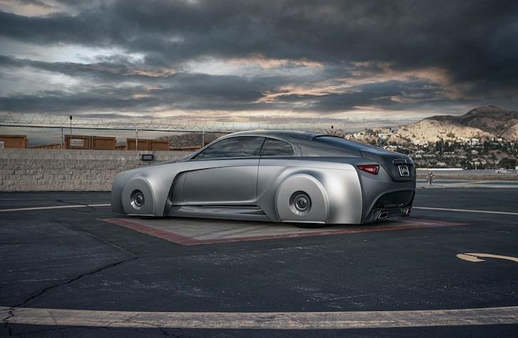 السيارة رولز رويس رايث- الصورة من موقع TMZ