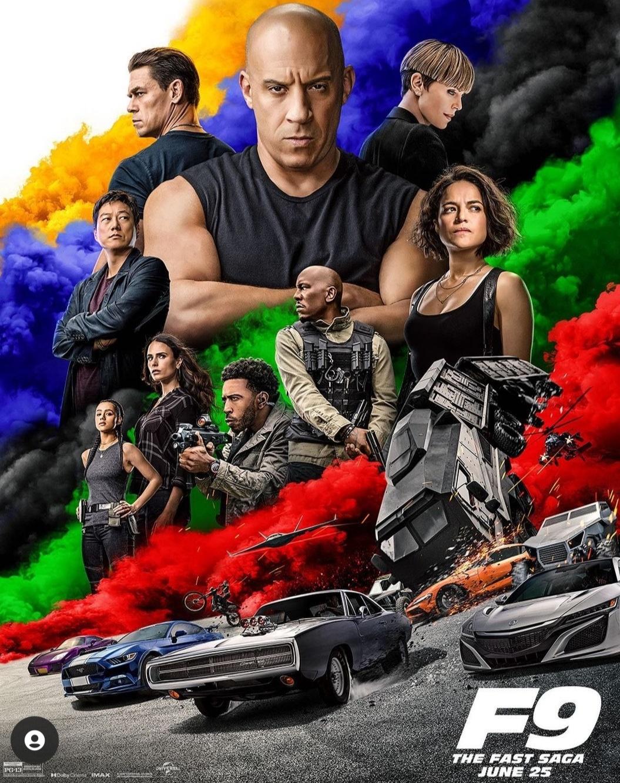 فيلم Fast and Furious9- الصورة من حساب The fast saga على إنستغرام