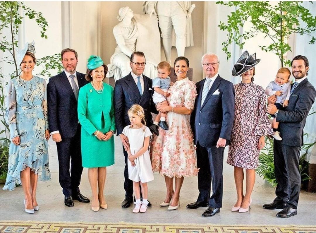 العائلة الملكية السويدية- الصورة من حساب The Sweden royal على إنستغرام