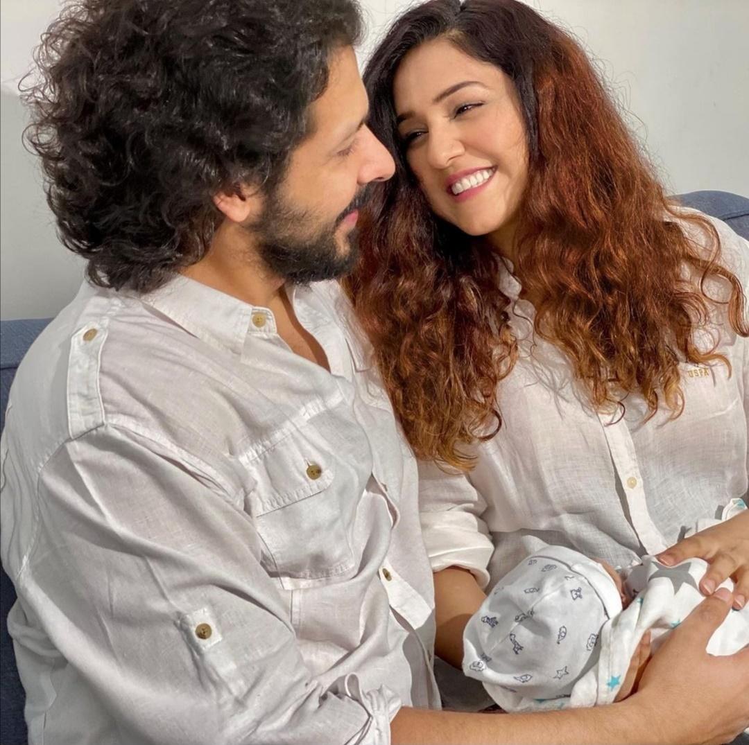 نيتي موهان تعلن اسم ابنها- الصورة من حساب نيتي موهان على إنستغرام