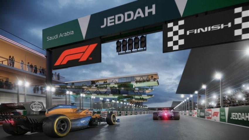 مسابقة السعودية للفورمولا 1 في جدة