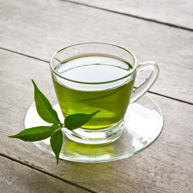 الشاي الأخضر لتحسين من صحة بشرة العروس
