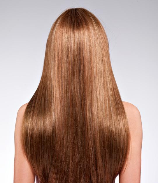 يجب تطبيق البلسم على خصلات الشعر وليس جذوره