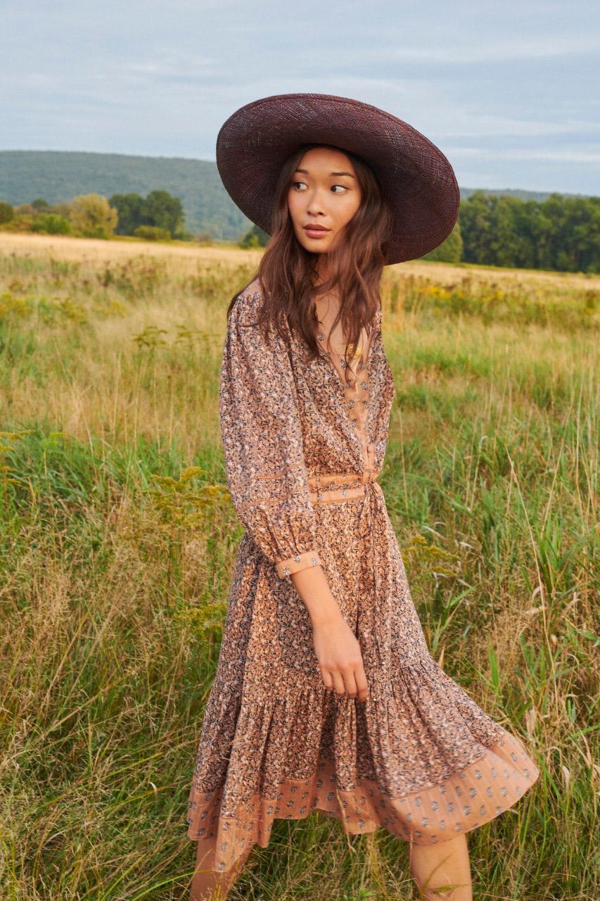 فستان بوهيمي قصير من فيرونيكا بيرد Veronica Beard
