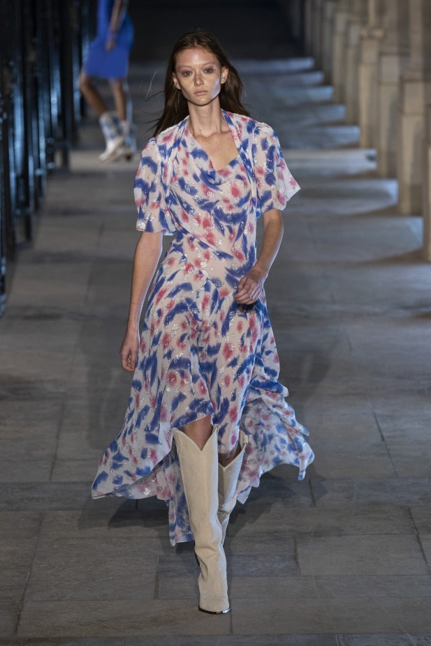 فستان تاي داي من Isabel Marant