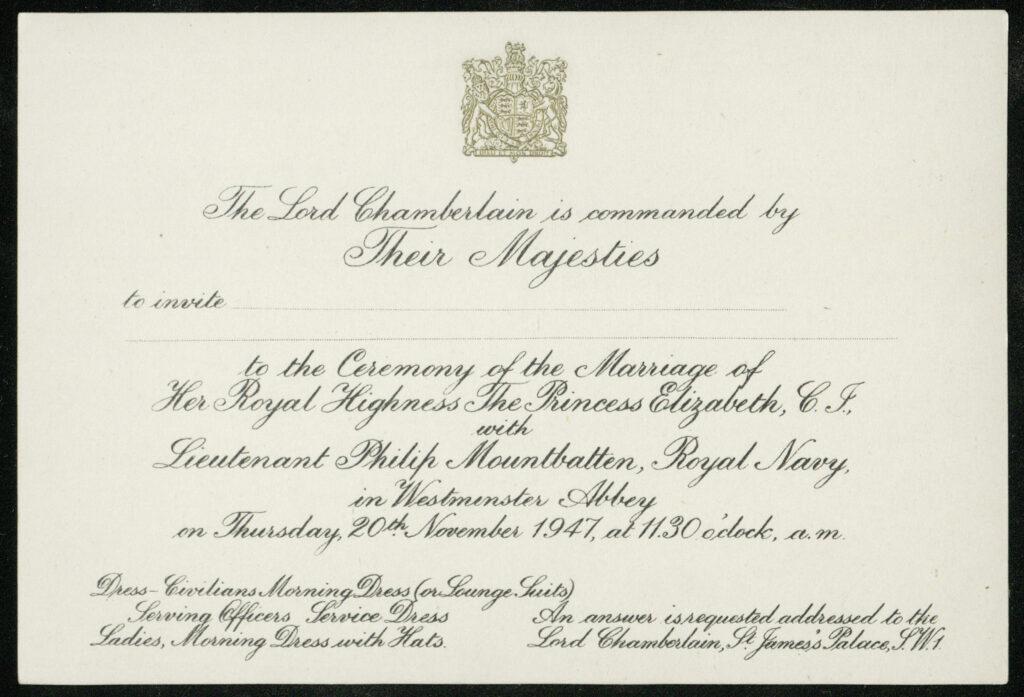دعوة الزفاف- الصورة من موقع The royal central