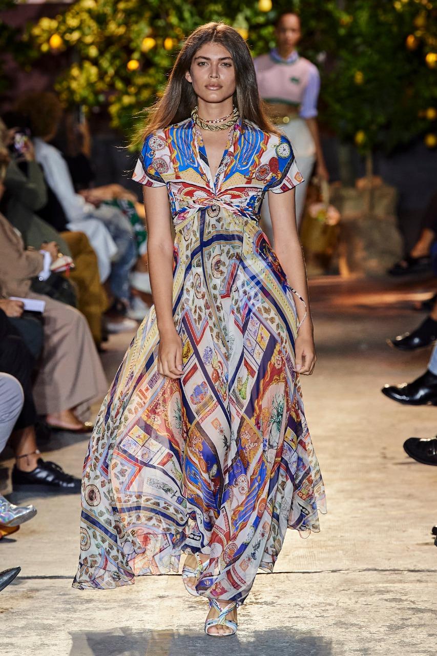 فستان بوهيمي طويل من Cosel