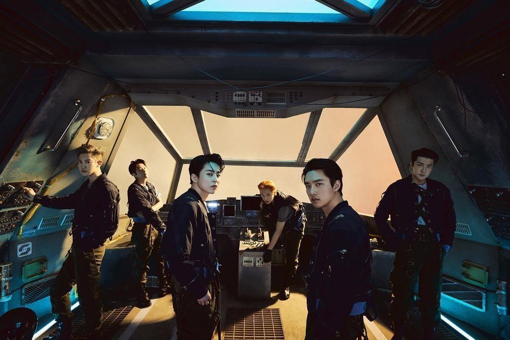 فرقة EXO- الصورة من موقع koreaherald