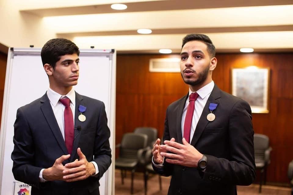 جاسر محمد جلال ومصطفى أحمد عبد المهيمن