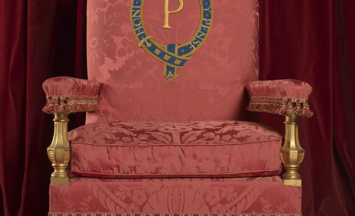 كرسي الأمير فيليب- الصورة من موقع The royal central