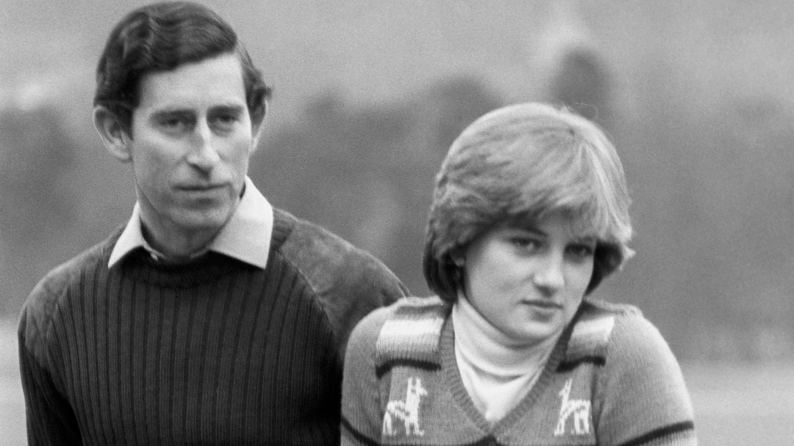 الأمير تشارلز وديانا في بالمورال عام 1981- الصورة من موقع Sky News