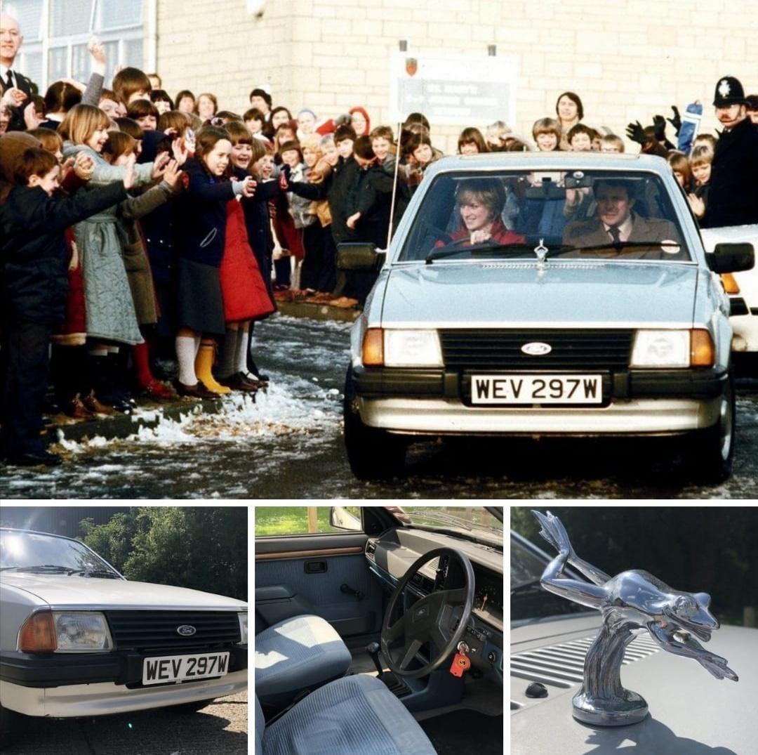 السيارة فورد إسكورت- الصورة من حساب fordthorne-cardiff على إنستغرام