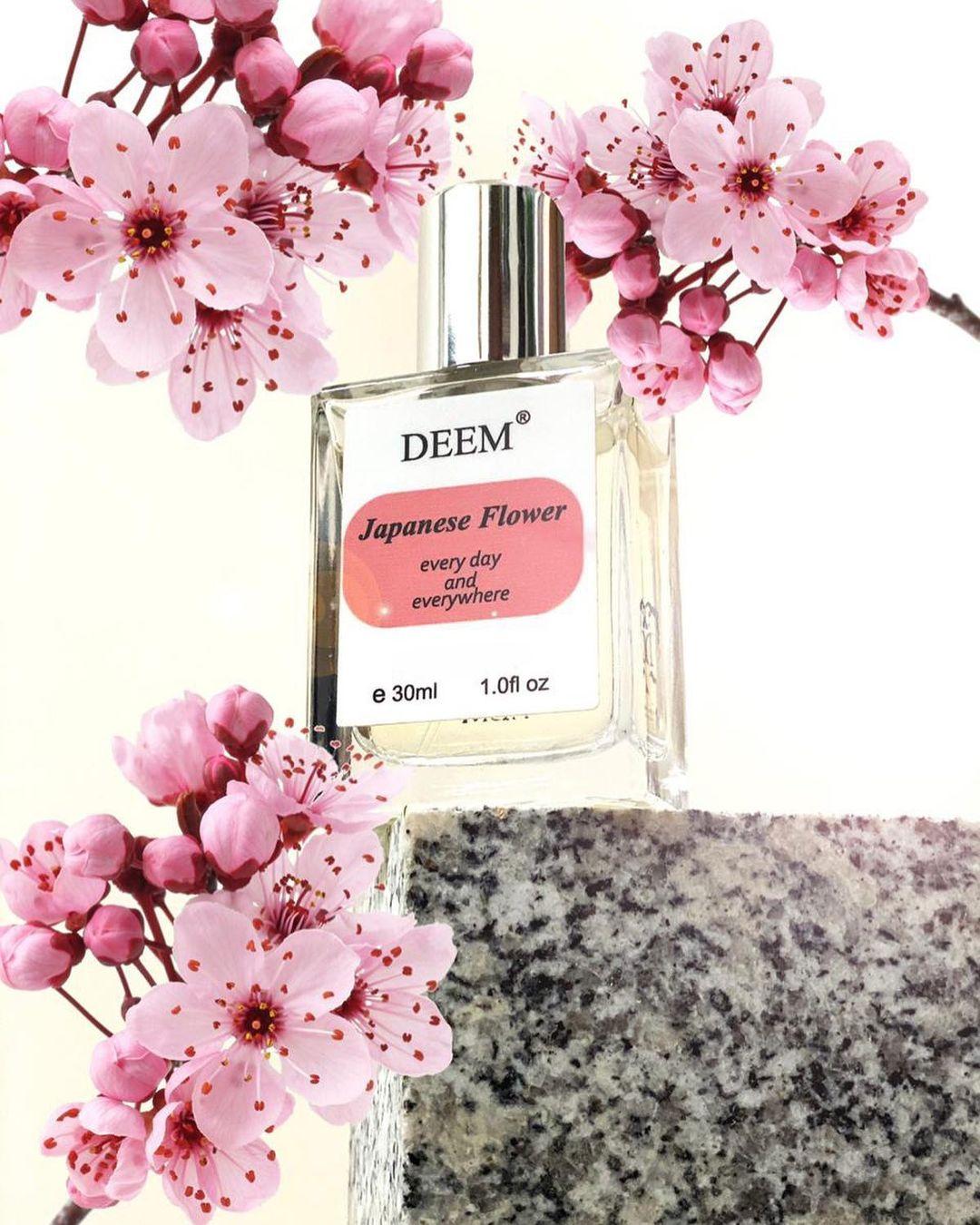 عطر الأزهار اليابانية من شركة ديم السعودية