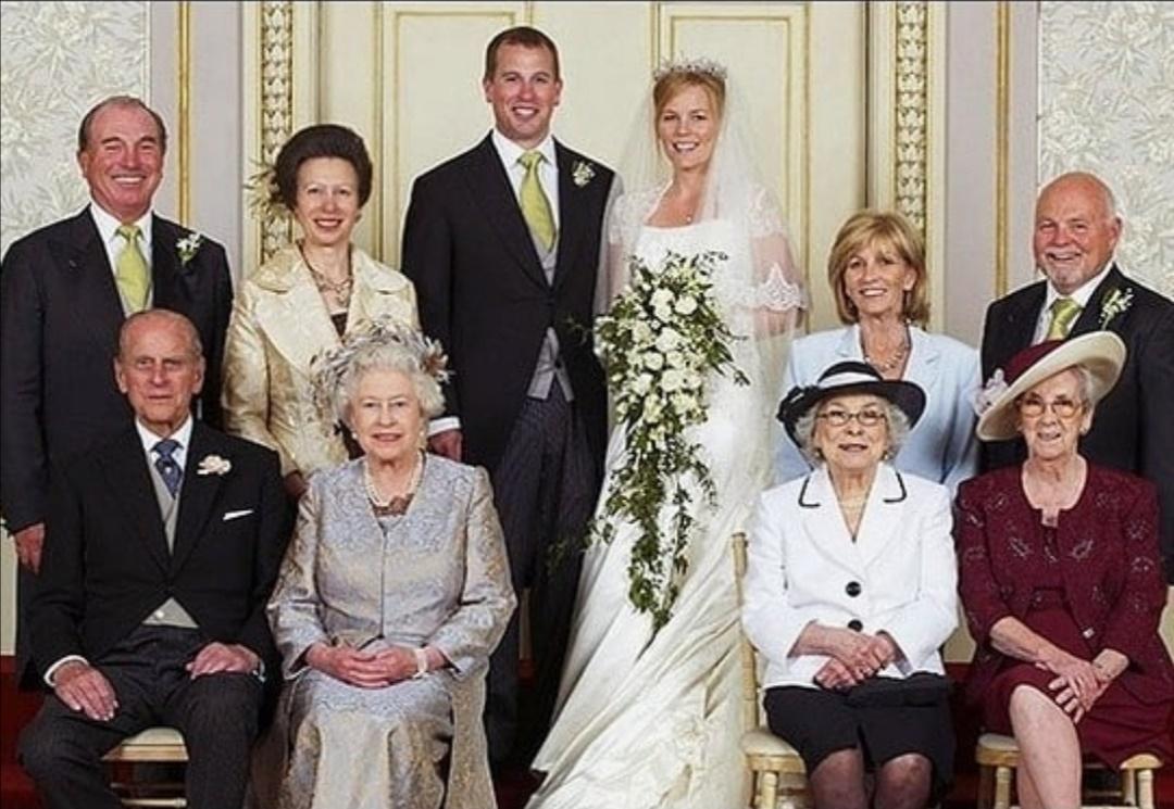 زواج بيتر فيليبس وأوتومن- الصورة من حساب بيتر فيليبس على إنستغرام-