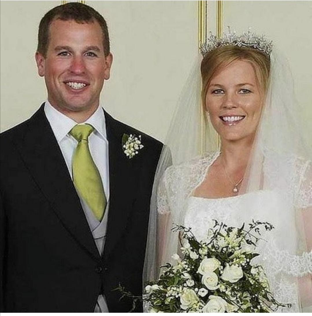 زواج بيتر فيليبس وأوتومن- الصورة من حساب بيتر فيليبس على إنستغرام