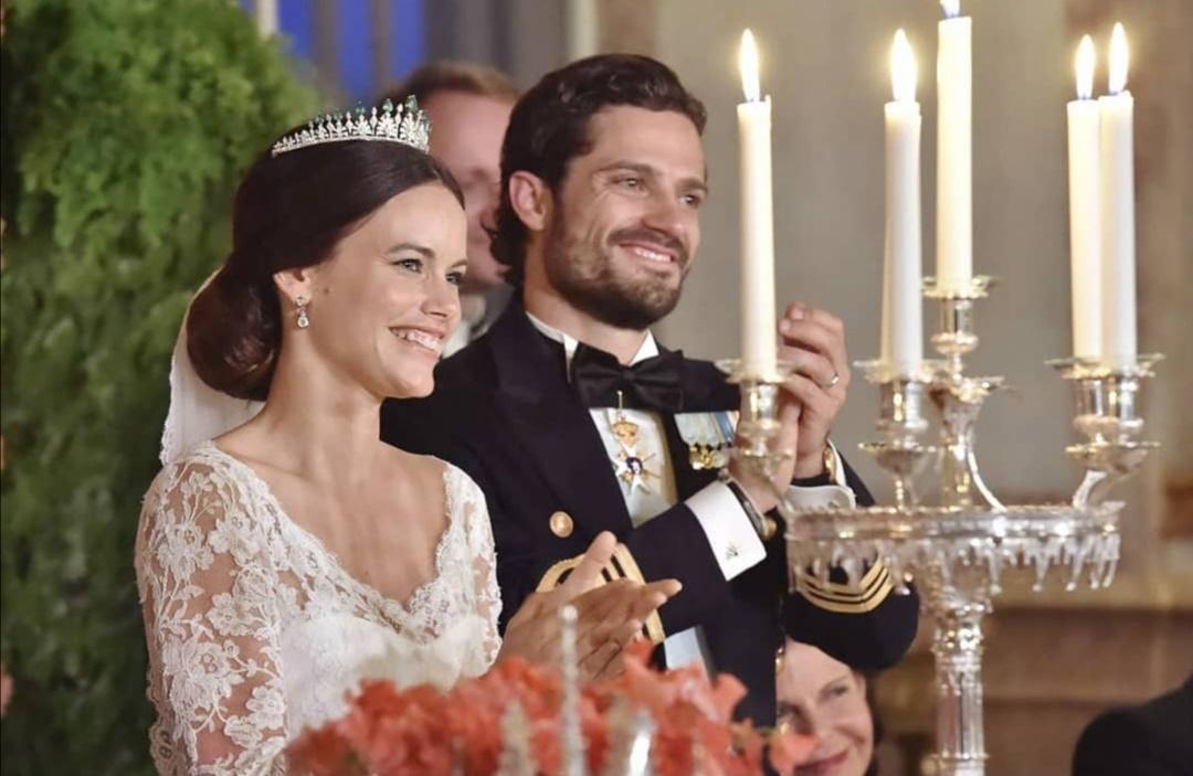 زواج الأمير كارل فيليب والأميرة صوفيا- الصورة من حساب الأمير كارل فيليب على إنستغرام
