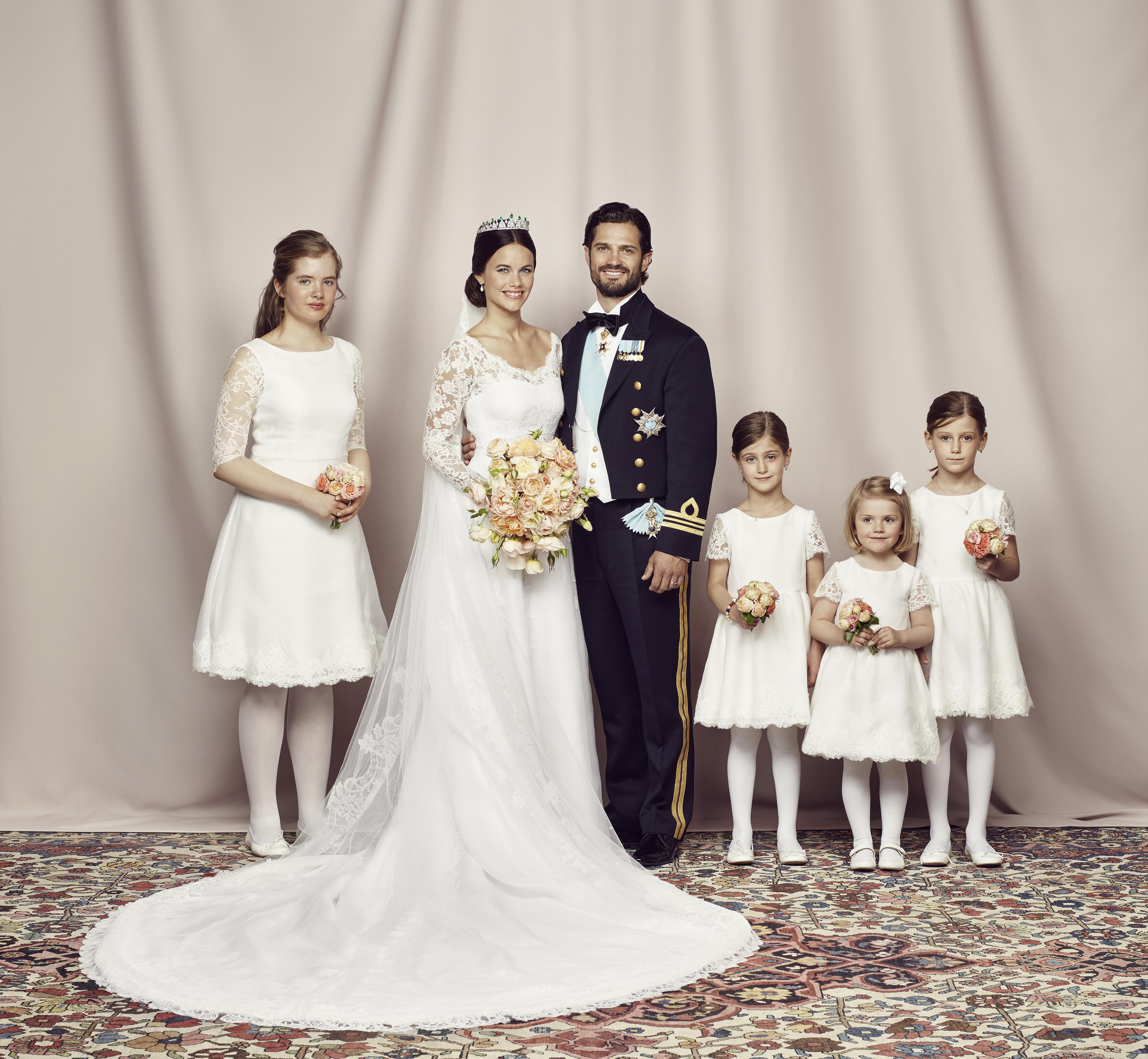 زواج الأمير كارل فيليب والأميرة صوفيا- الصورة من موقع Royal central