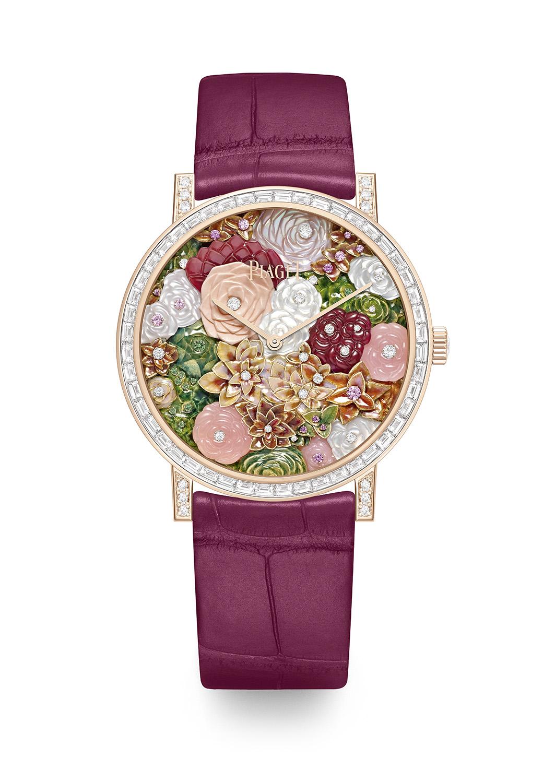 ساعة من مجموعة Piaget Rose الجديدة من بياجيه Piaget