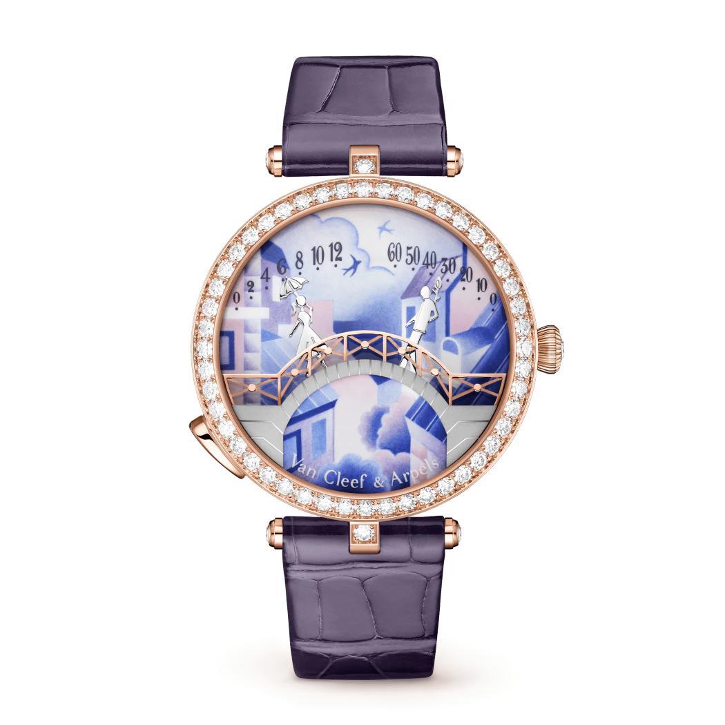 ساعة لايدي آربلز بون ديزامورو جور لدار فان كليف آند آربلز Van Cleef & Arpels