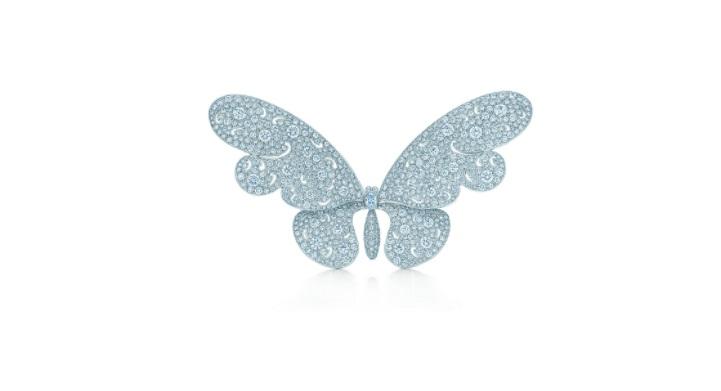 بروش مرصع بالألماس من تيفاني آند كو Tiffany & co