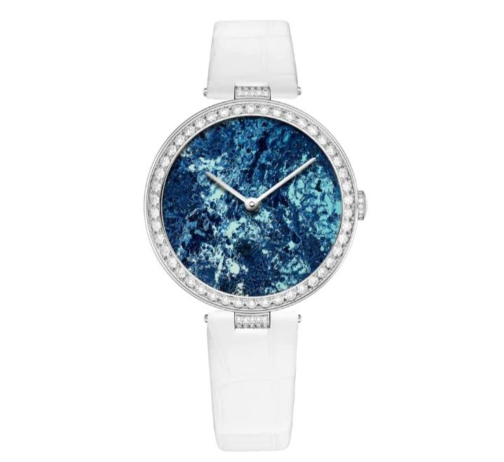 ساعة يد Les Pierres De Rêve بيضاء من علامة شوميه «Chaumet»