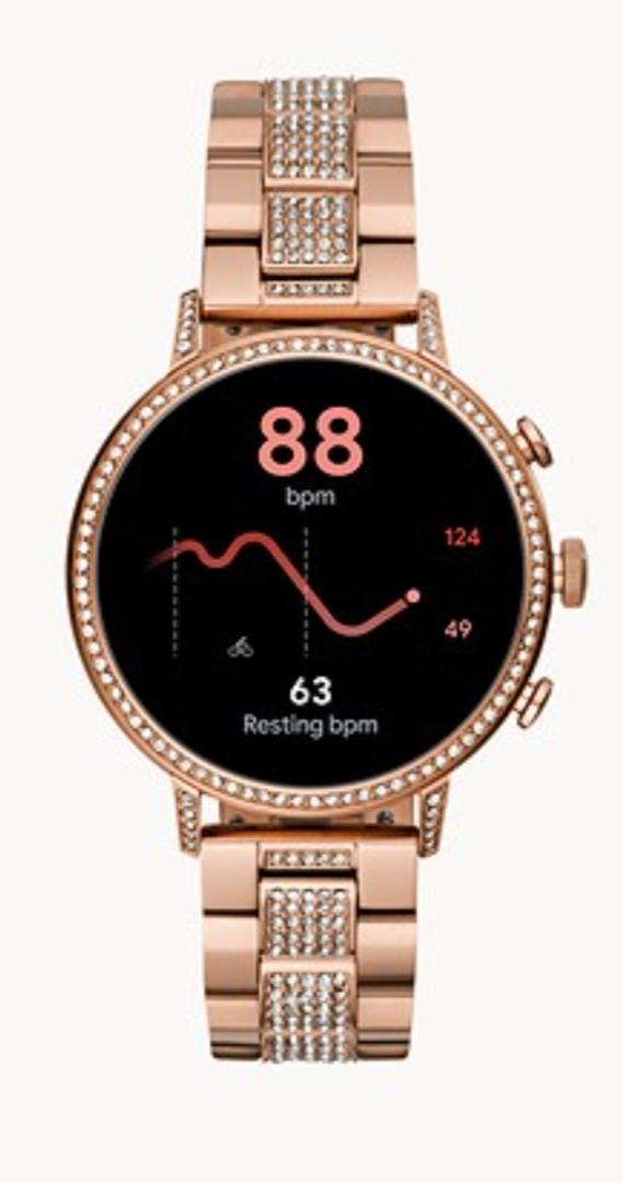 ساعة يد ذكية من علامة «Fossil»