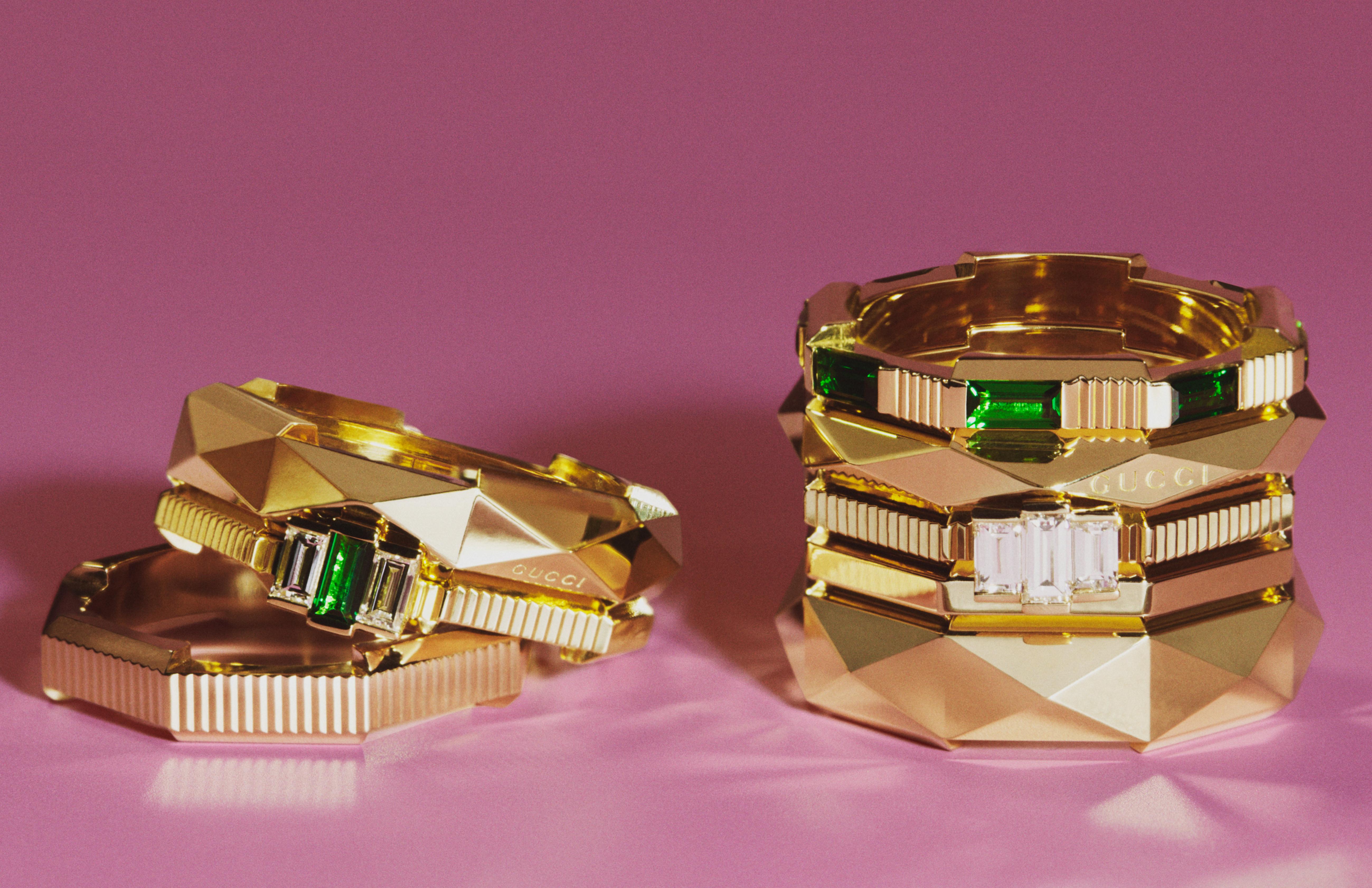 صورة من الحملة الإعلانية لمجموعة Link To Love من غوتشي Gucci