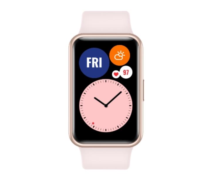 ساعة «Watch Fit» من علامة «HUAWEI»