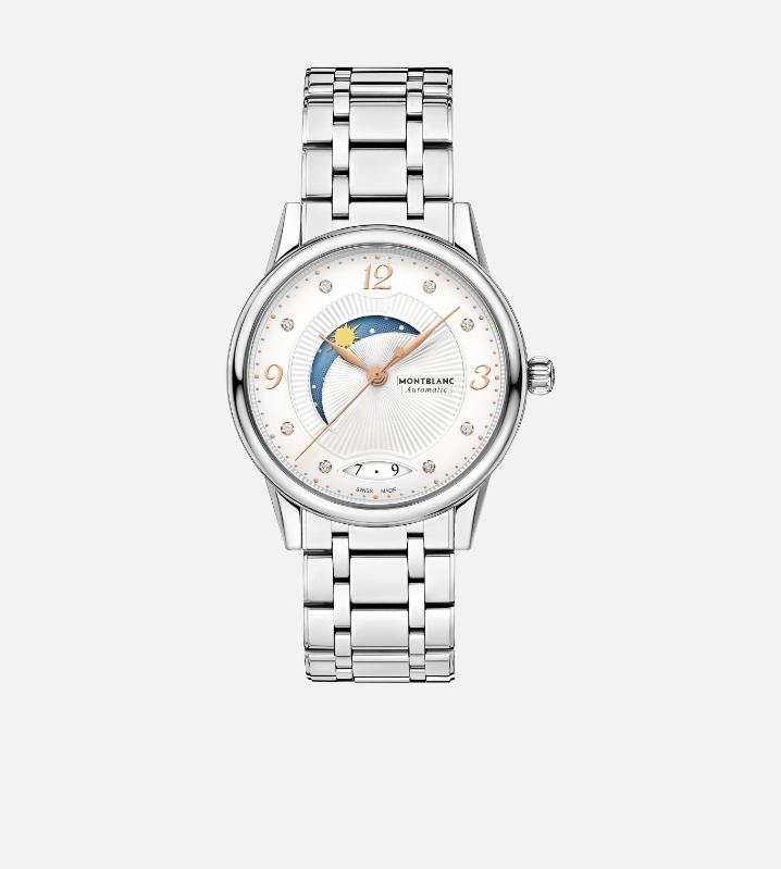 ساعة يد قمرية من ماركة مونت بلانك Montblanc