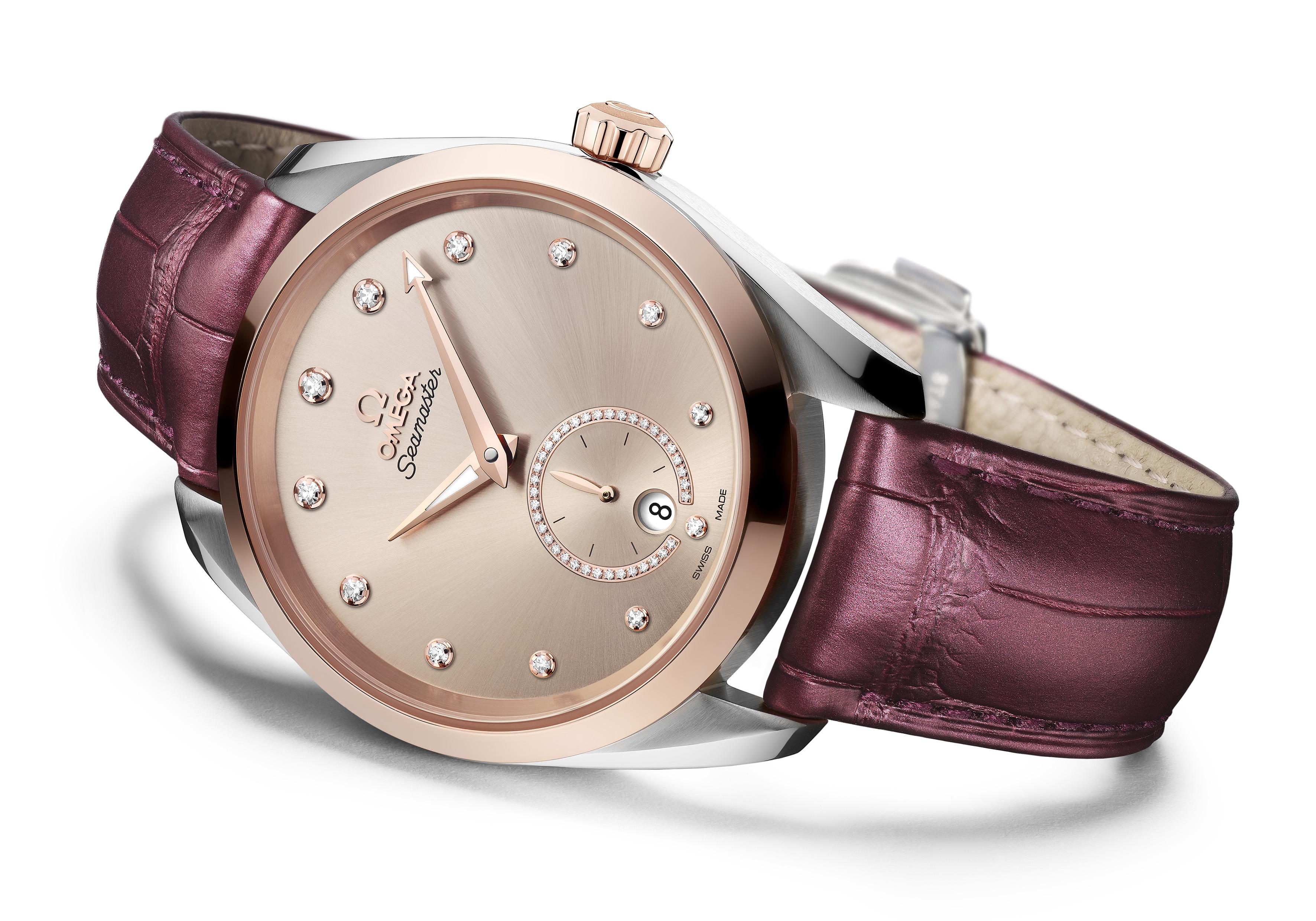 ساعة أكوا تيرا من أوميغا Omega تتألق بتصميم جديد