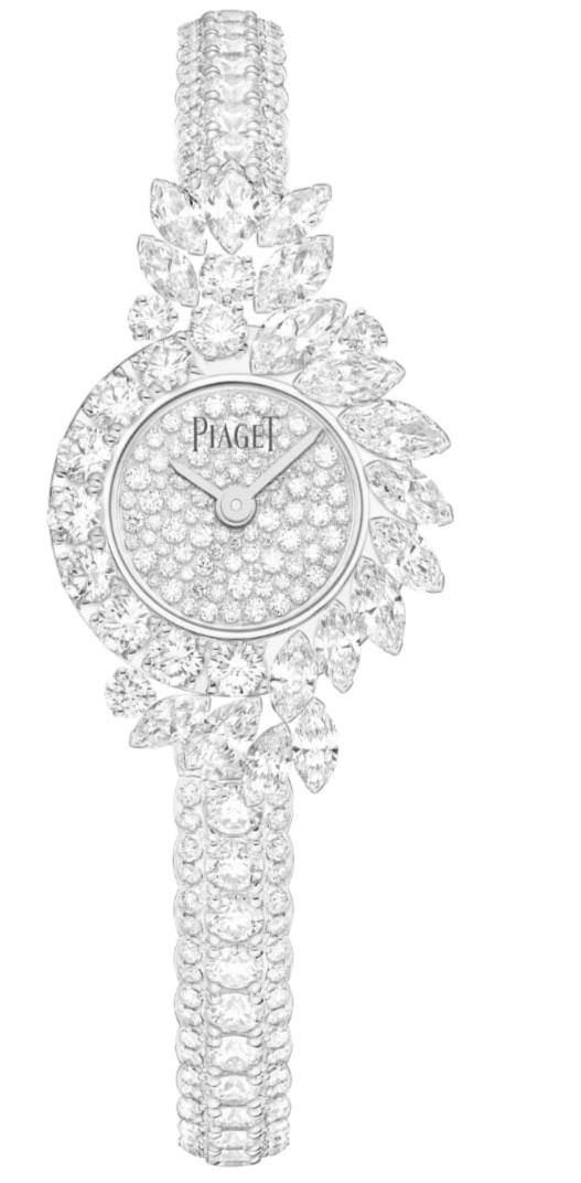 ساعة ألماس من ماركة بياجيه Piaget