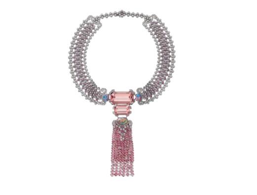 قلادة من الياقوت الوردي من كارتييه Cartier