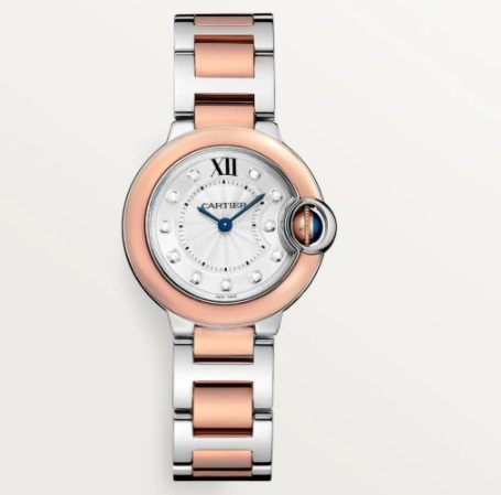 ساعة ذهب وفولاذ من كارتييه Cartier