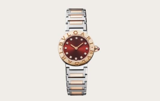 ساعة يد مزينة بطلاء المينا من بولغري Bvlgari