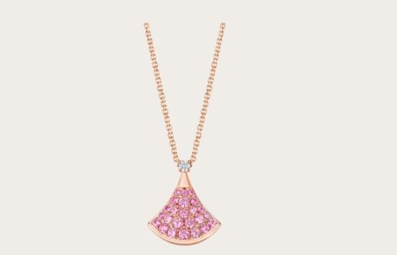 سلسلة من الياقوت الوردي من بولغري Bvlgari