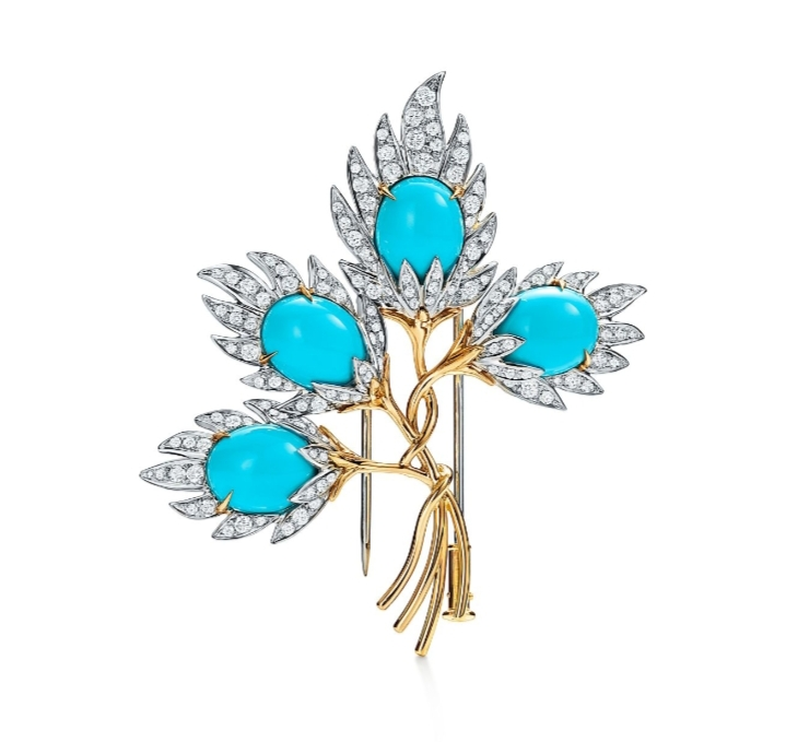بروش جذاب من دار تيفاني أند كو «Tiffany & Co»لعروس 2021