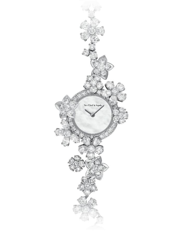 ساعة Folie des Prés من علامة فان كليف أند آربلزVan Cleef & Arpels