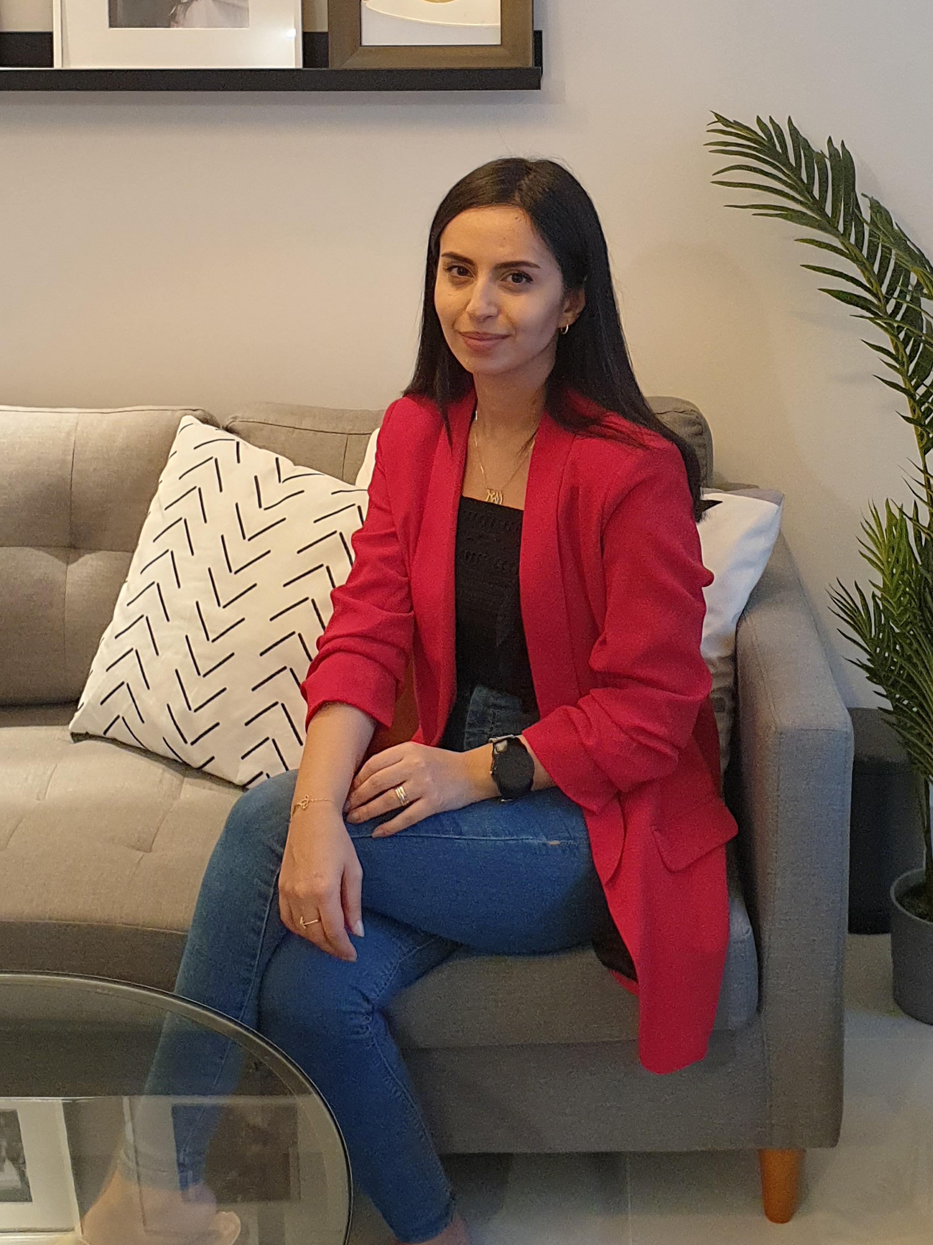 مهندسة الديكور لين مهنّا عبدالصمد