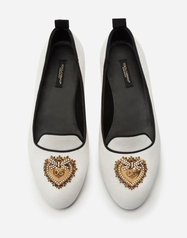 حذاء أبيض من Dolce & Gabbana