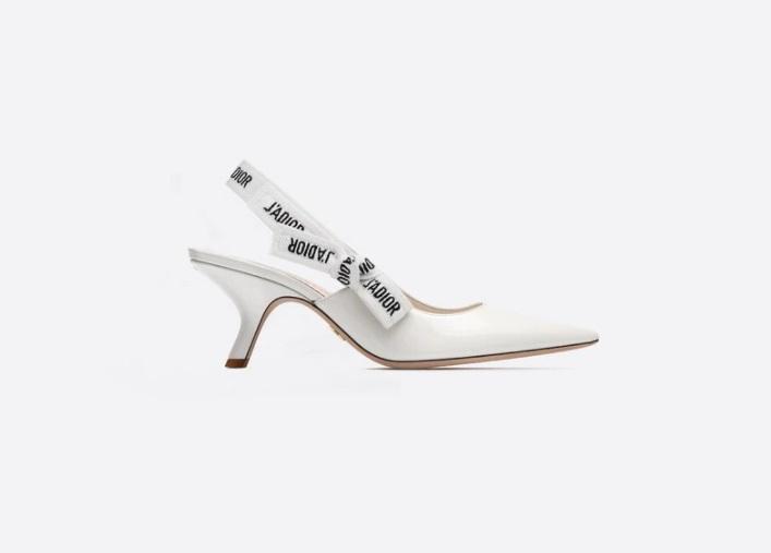 حذاء أبيض من Dior